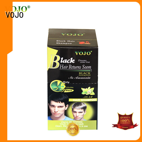 VOJO Custom hair colour shampoo supply for girls