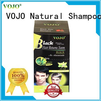 VOJO gery beard dye shampoo Suppliers for man