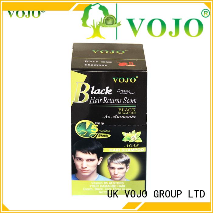VOJO long hair dye shampoo for business for woman