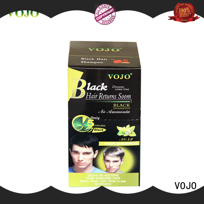 VOJO Latest hair colour shampoo company for adult