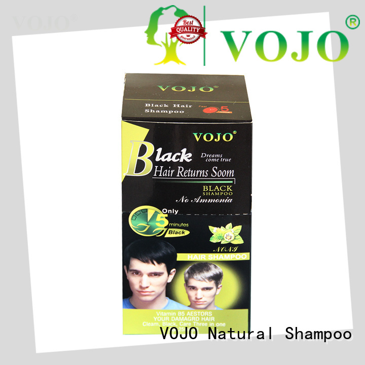 VOJO Wholesale hair dye shampoo for business for woman