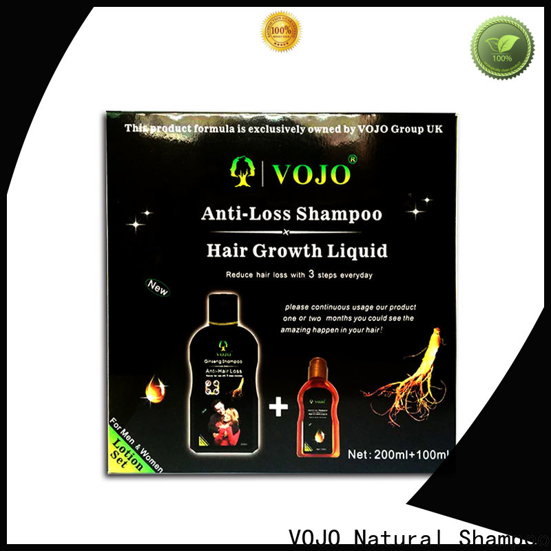 VOJO stimulating anti hair fall shampoo for business for man