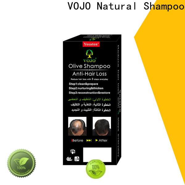 VOJO Custom anti hair loss shampoo supply for woman