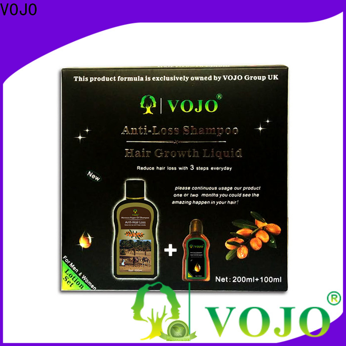 VOJO Latest hair growth shampoo suppliers for adult