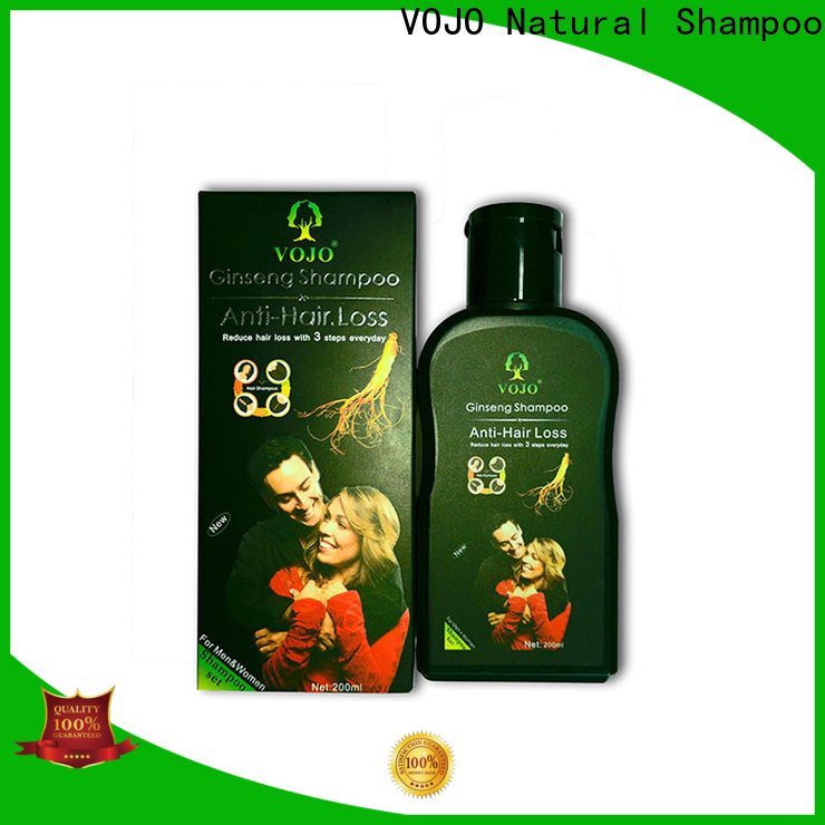 VOJO care anti hair loss shampoo manufacturers for adult