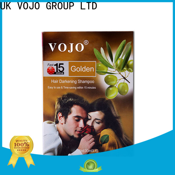 VOJO Best beard dye shampoo factory for salon