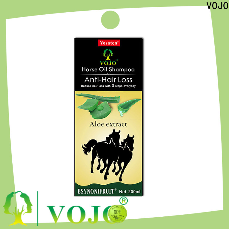 VOJO New anti hair loss shampoo suppliers for girls