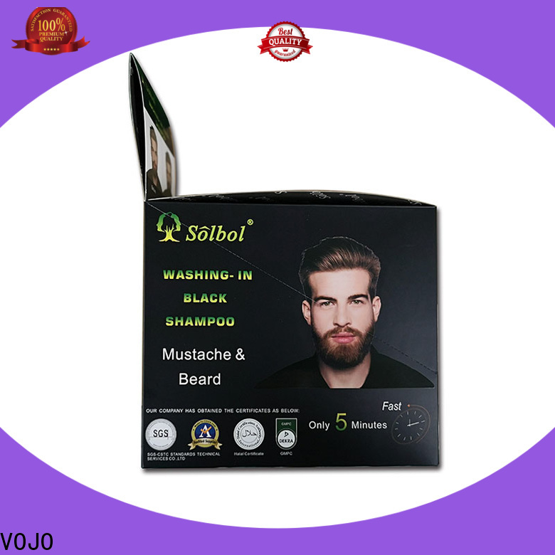 VOJO Best beard dye shampoo for business for woman