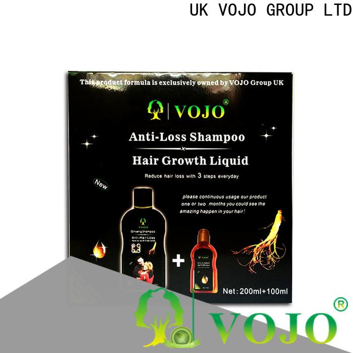 New anti hair fall shampoo loss supply for woman