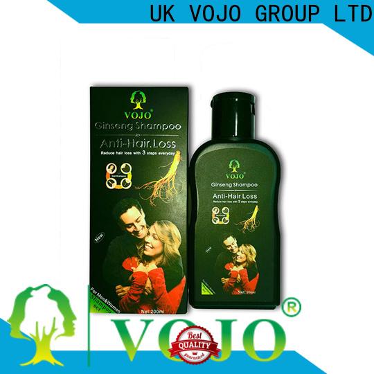 VOJO High-quality anti hair loss shampoo factory for adult