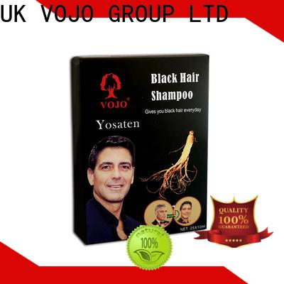 VOJO Wholesale hair colour shampoo company for man
