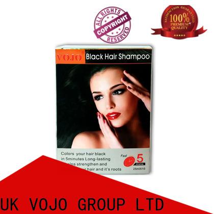 Custom hair colour shampoo ginger manufacturers for girls