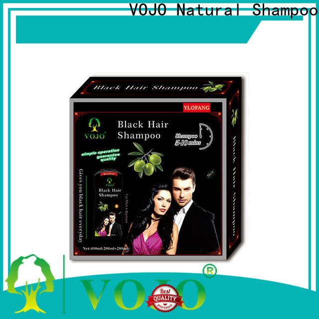 VOJO herbal beard dye shampoo for business for adult