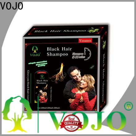 VOJO popular hair dye shampoo suppliers for man