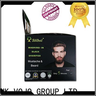 VOJO oem hair dye shampoo for sale for woman