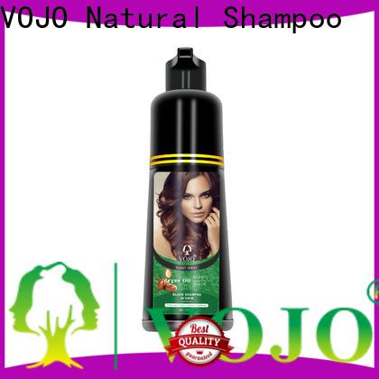 VOJO brand hair colour shampoo company for salon