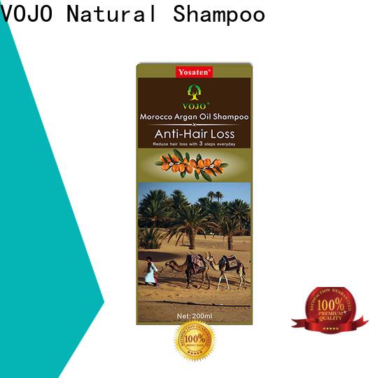 Latest anti hair fall shampoo label suppliers for man