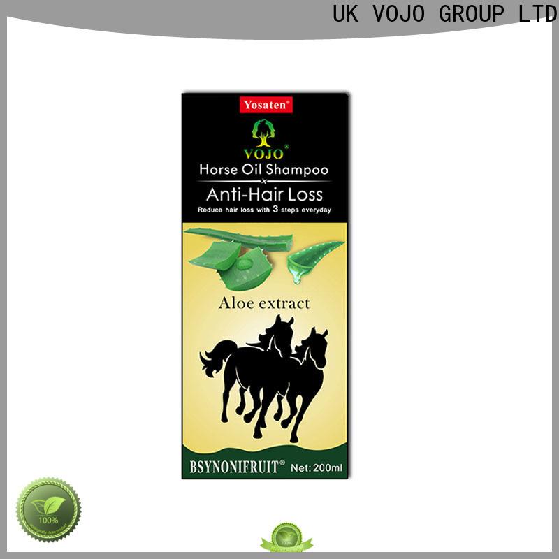 VOJO caffeine anti hair loss shampoo factory for adult
