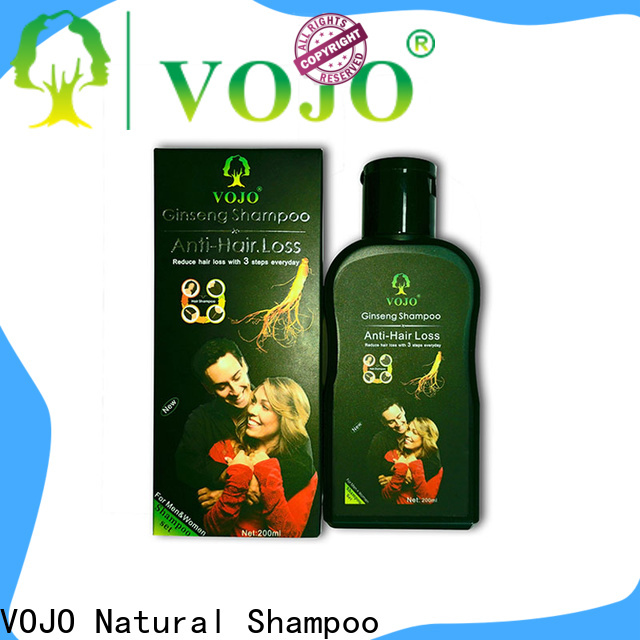 VOJO private anti hair fall shampoo manufacturers for girls