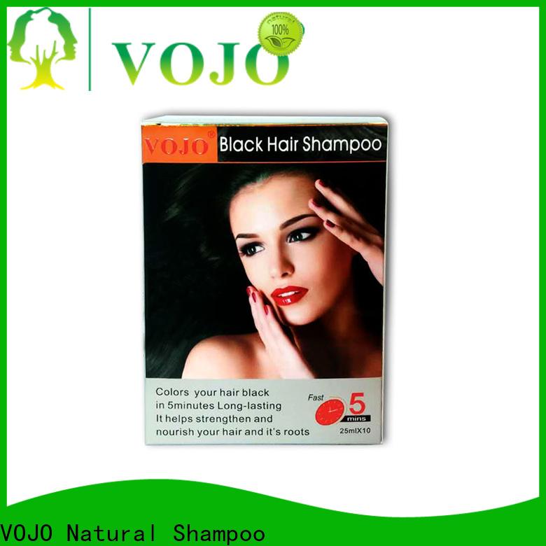 VOJO ginger beard dye shampoo supply for man