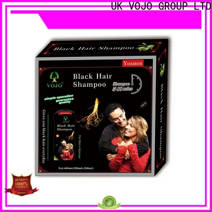 High-quality hair colour shampoo gery manufacturers for man