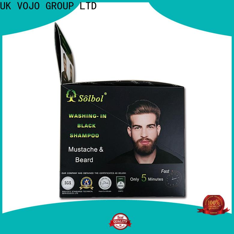 VOJO Top beard dye shampoo for sale for adult