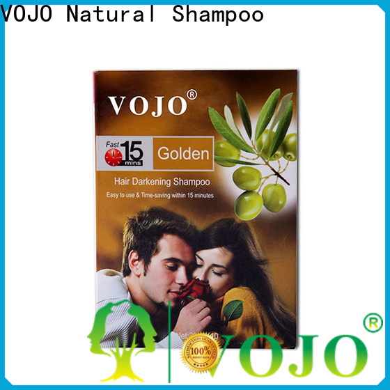 VOJO free hair colour shampoo company for adult