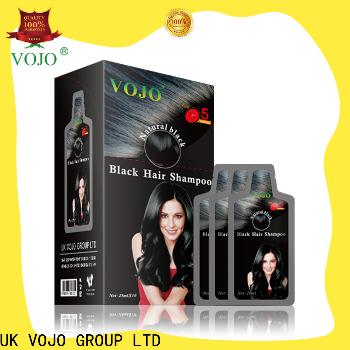 VOJO Latest hair dye shampoo supply for girls