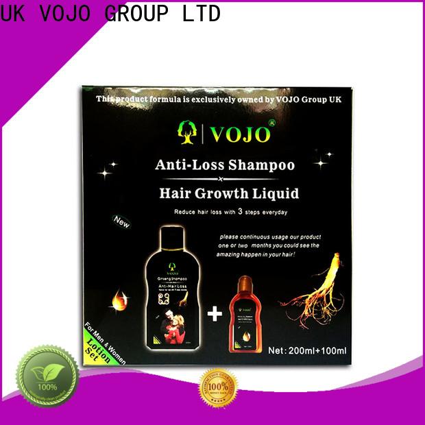 VOJO Latest anti hair loss shampoo company for adult