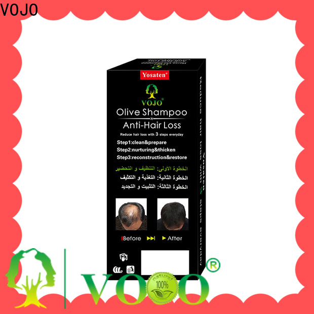 VOJO essence anti hair loss shampoo company for adult