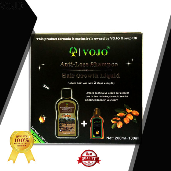 VOJO Custom anti hair loss shampoo factory for salon