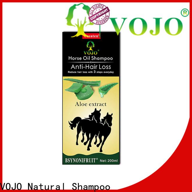 VOJO herbal anti hair loss shampoo manufacturers for man