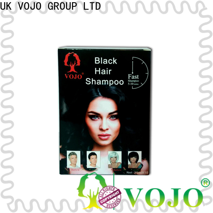 VOJO odm beard dye shampoo for sale for salon