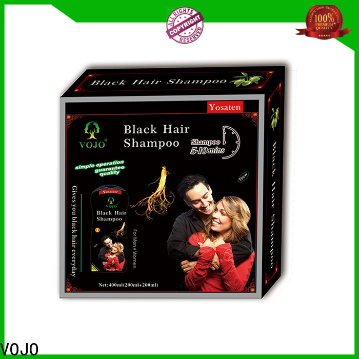 New hair colour shampoo vojo suppliers for salon