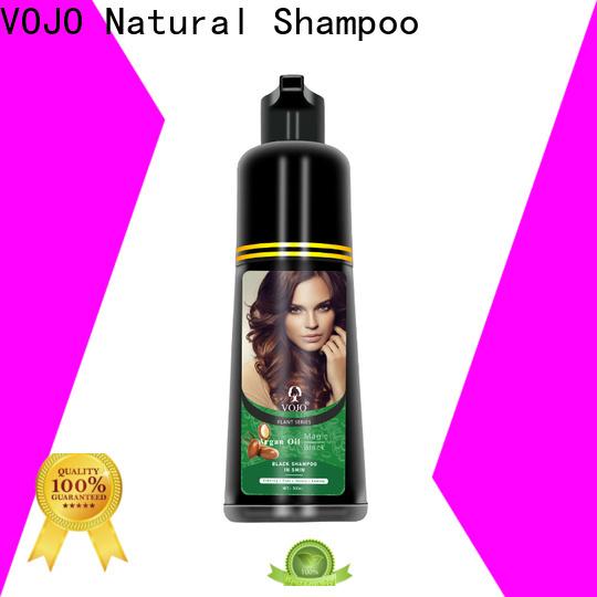 Custom hair colour shampoo healthy factory for adult