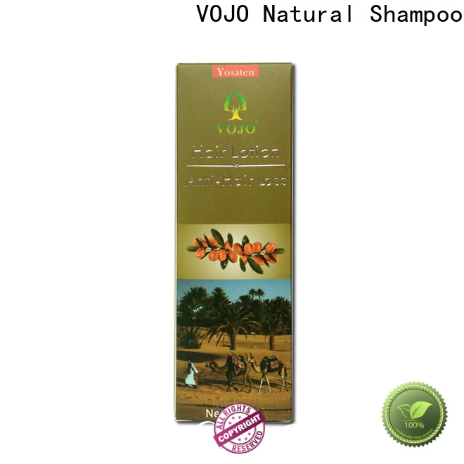 VOJO Latest anti hair fall shampoo factory for girls