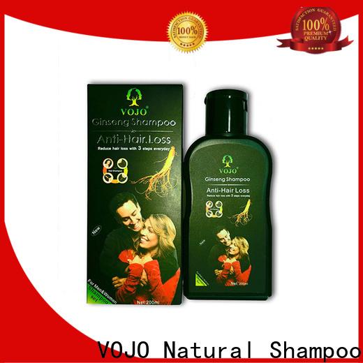 VOJO Best hair growth shampoo factory for salon