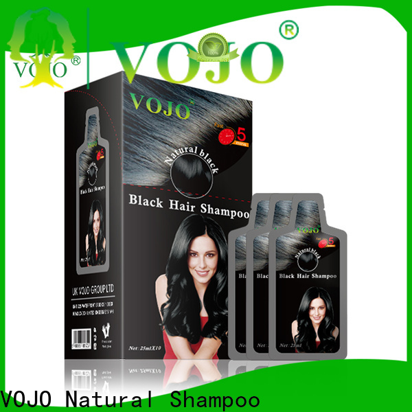 VOJO New hair dye shampoo company for girls