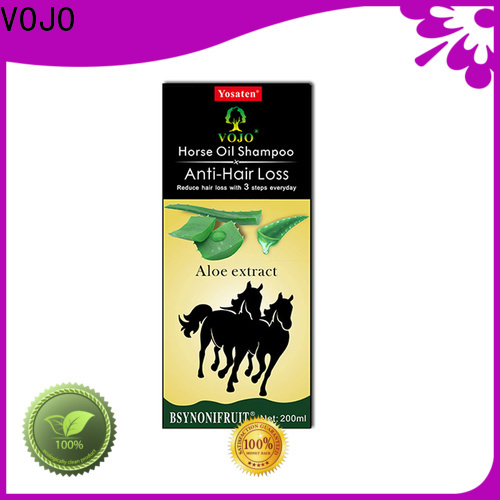 VOJO private anti hair loss shampoo suppliers for girls