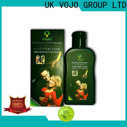 Custom hair growth shampoo label company for man