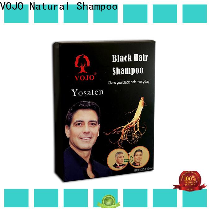 VOJO black hair dye shampoo suppliers for woman