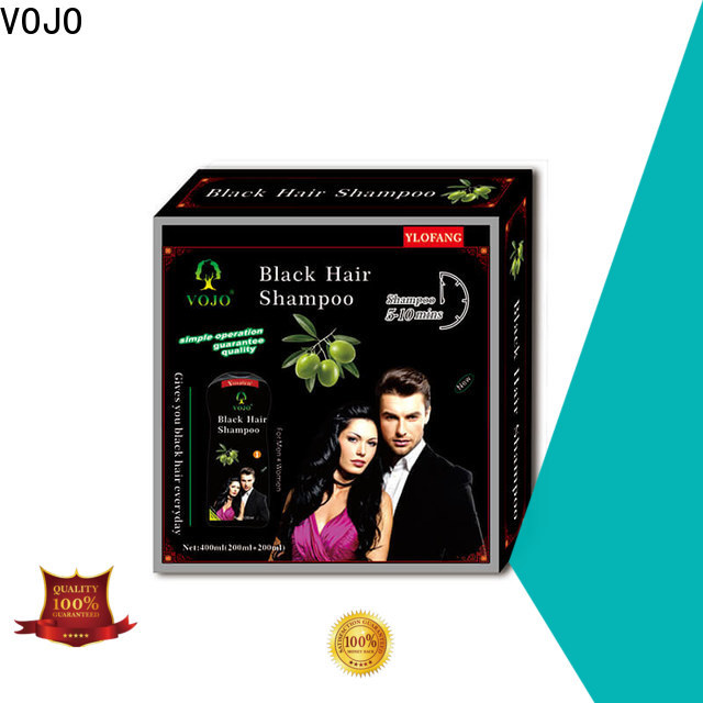 VOJO dyeing hair colour shampoo for sale for girls