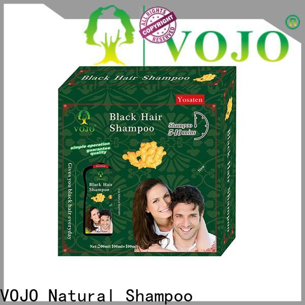 VOJO Wholesale hair dye shampoo for business for man