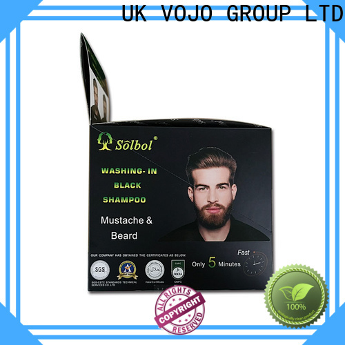 VOJO High-quality beard dye shampoo supply for adult