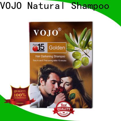 VOJO High-quality beard dye shampoo factory for salon