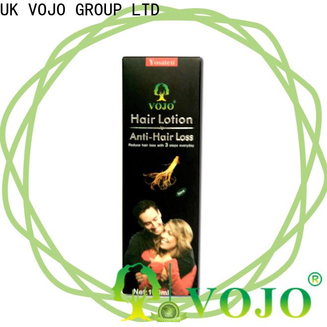 VOJO High-quality hair growth shampoo company for woman