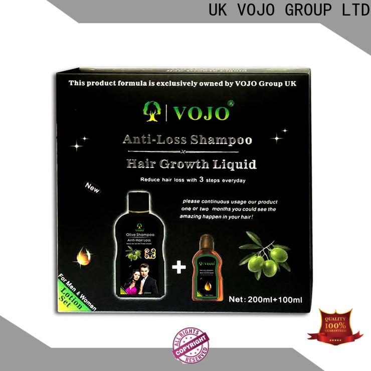 VOJO Best anti hair loss shampoo company for woman