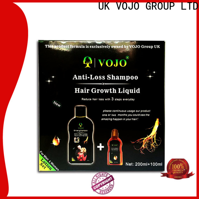 VOJO free hair growth shampoo for business for man