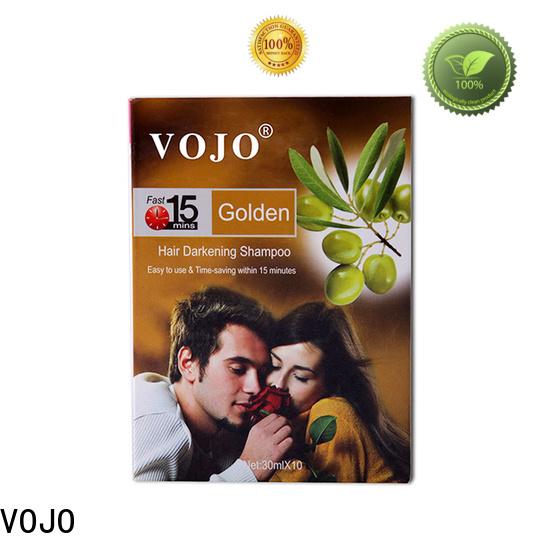 Top hair colour shampoo vojo supply for man