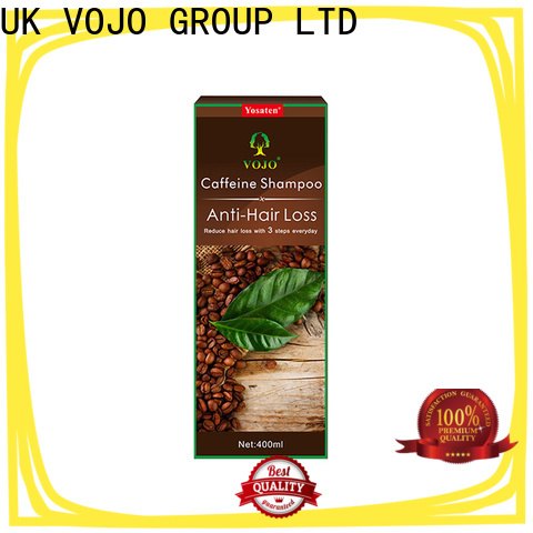 VOJO caffeine anti hair loss shampoo factory for adult